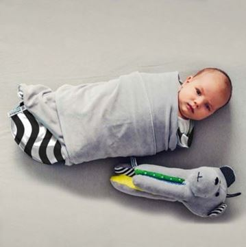 Whisbear- The Humming Bear Cry Sensor + warm baby swaddle
